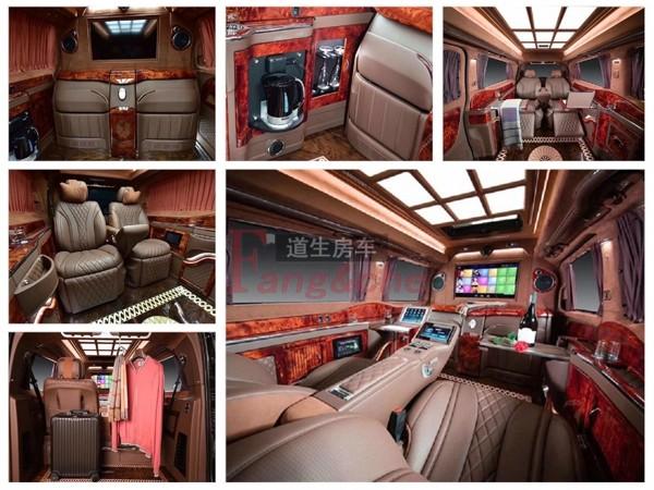 北京私人订制商务车奔驰威霆内饰风格各异