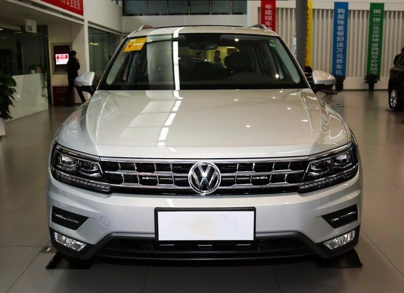 上海大众途观L新售价18款途观L新车报价及图片