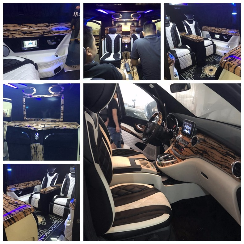 湖北奔驰V260改装公司 武汉专业改装奔驰