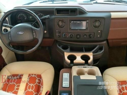 买进个福特E350商政车不用改装却如此万端荣