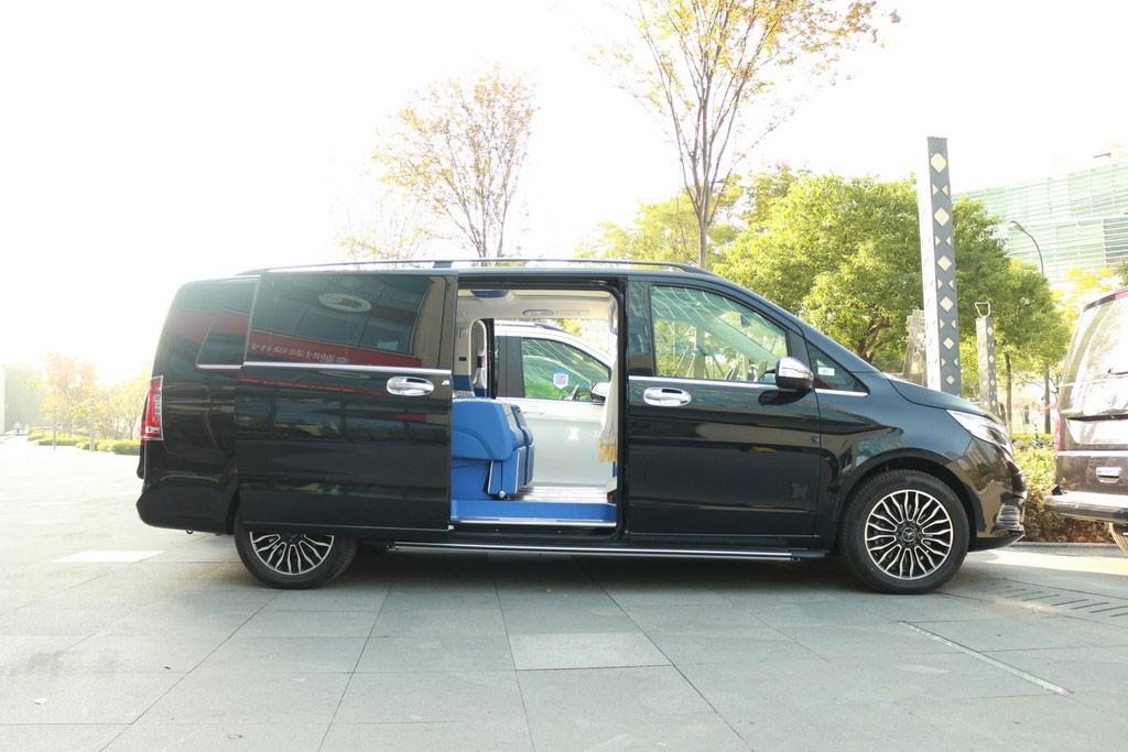 奔驰v260l改装商务房车保姆车价格图片