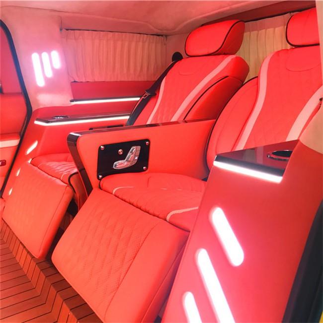 悍马H2改装图片 悍马H2改装航空座椅