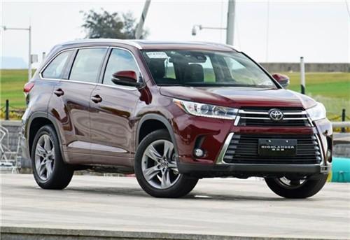 滚动:新款丰田汉兰达价格本店现车销售