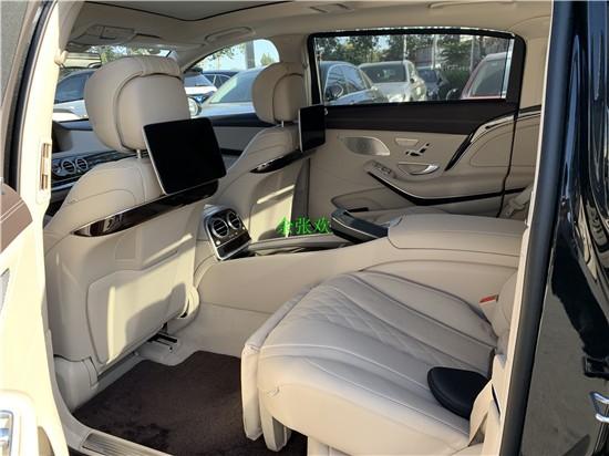 奔跑迈巴赫S560 2020款现车黑中米内现车售价多少钱?