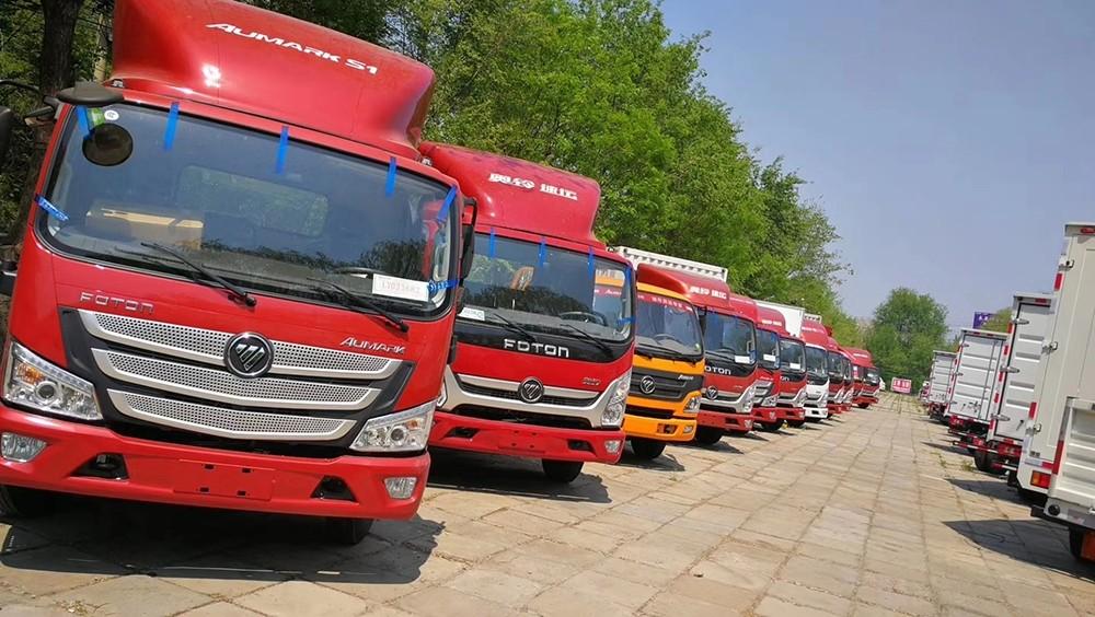 福田4米2的货车有几个型号/北京奥铃专卖店