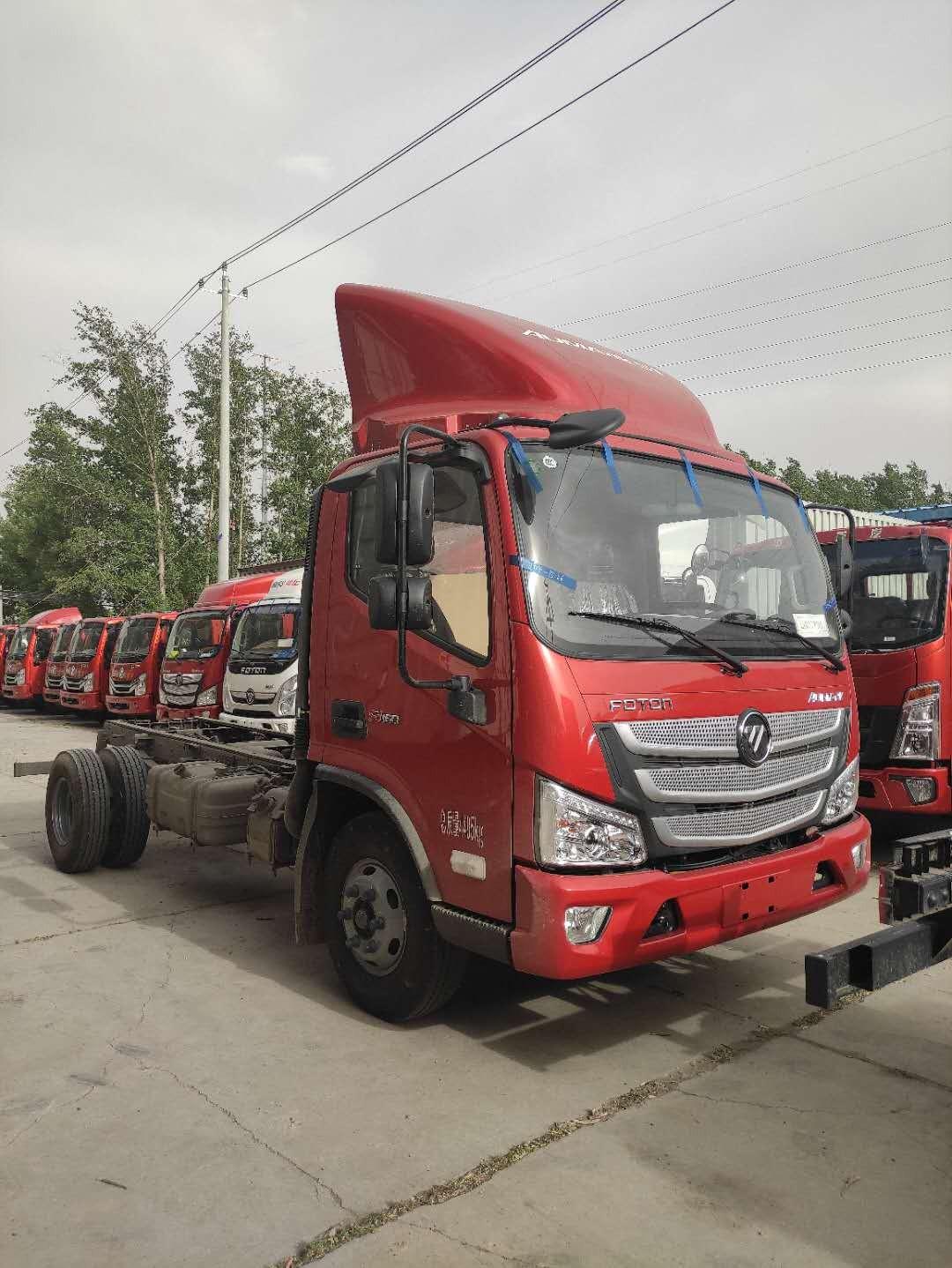 福田欧马可4米2高栏报价 北京货车大市场