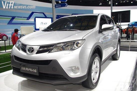 丰田RAV-4两驱风尚版 北京月底再降8万