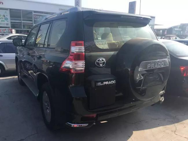 16款丰田普拉多降价优惠12万 SUV现车强劲动力与超低油耗高清图片