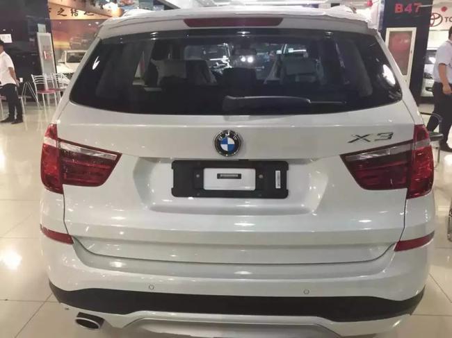 宝马X3现车价格优惠25万 全系热销中