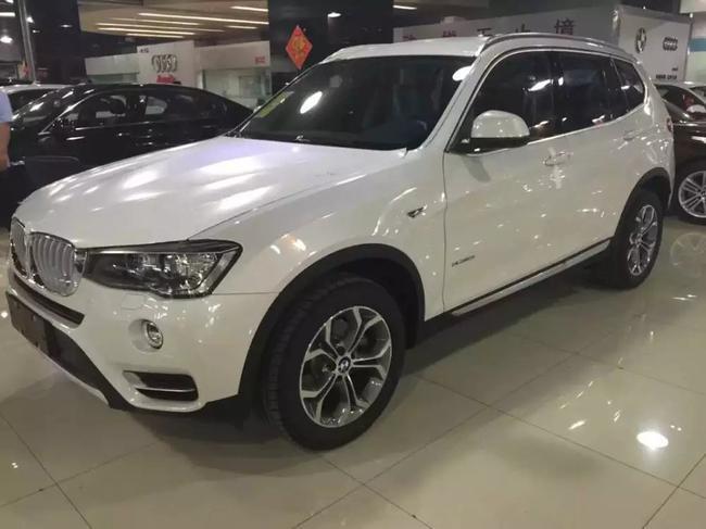进口SUV佼佼者宝马新款X3最新报价促销现车