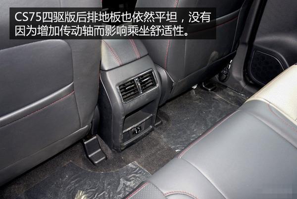 2016款长安CS75最新报价现车优惠大促销