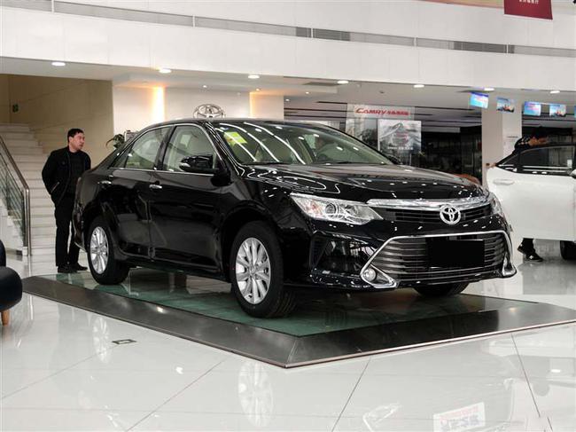 新款丰田凯美瑞 全系现车到店 最低12.48万