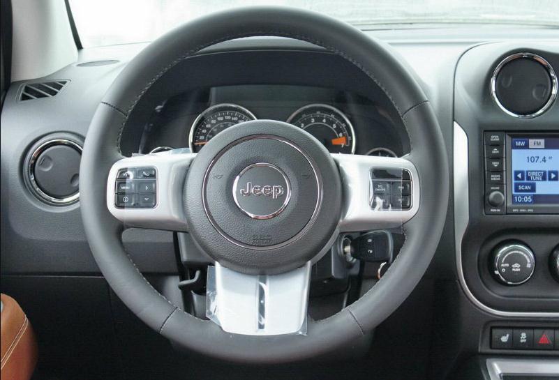粉尘车jeep指南者最低价格进口吉普指南者四驱多少钱高清图片