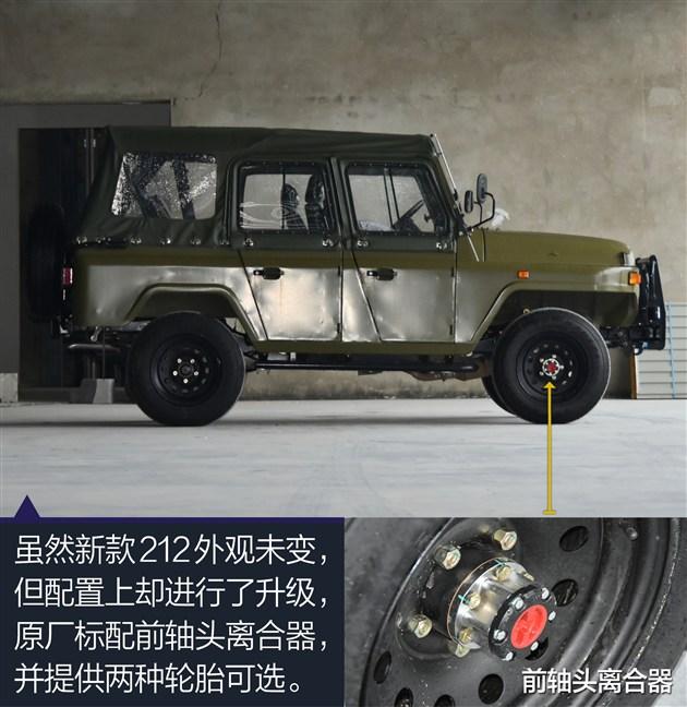 北京吉普212报价全系巨额降价高清图片