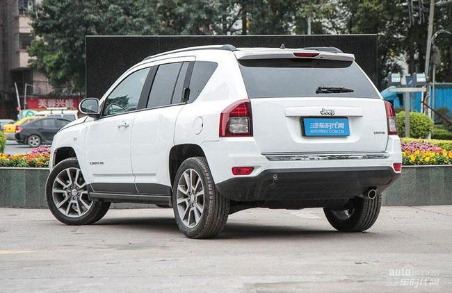 粉尘吉普指南者多少钱 jeep指南者2.4L报价 现车充足高清图片