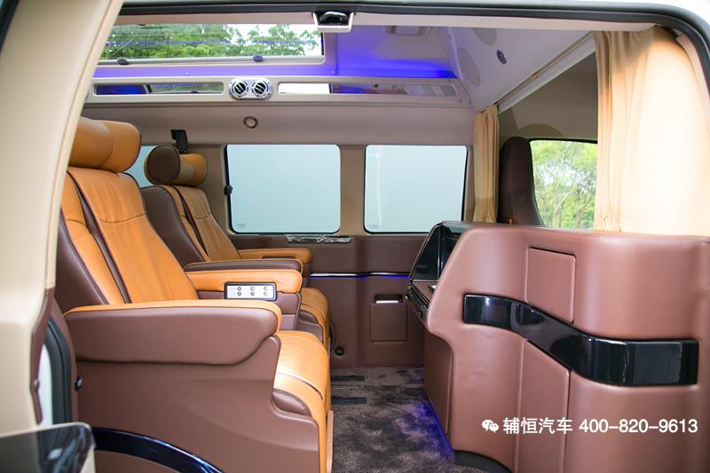 2019GMC萨瓦纳房车 明星都热衷的保姆车