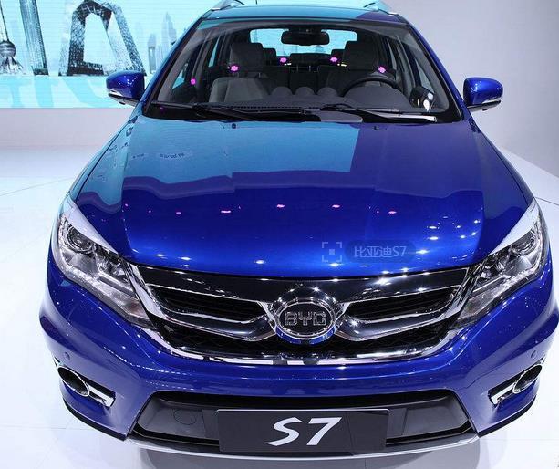 2016款比亚迪S7最新报价新款比亚迪S7现车优惠