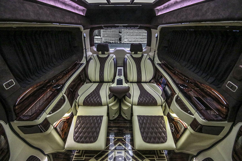 奔驰威霆房车进口7座豪华卡森版商务车