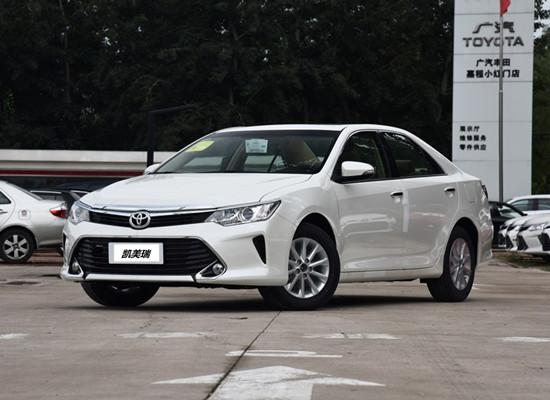 2016款全新丰田凯美瑞价格 凯美瑞降价售全国
